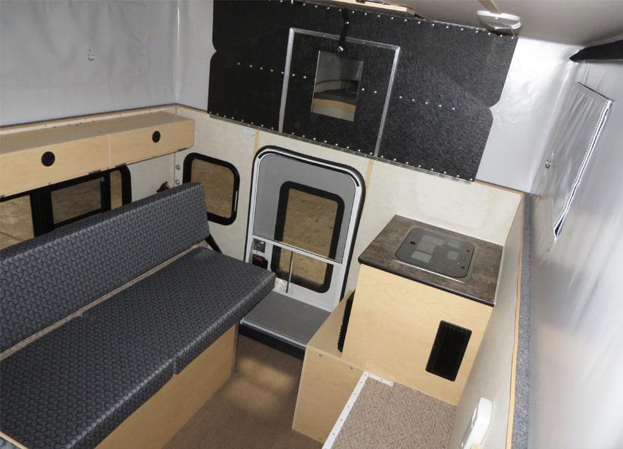 Hawk Side Storage Compartment Four Wheel Camper