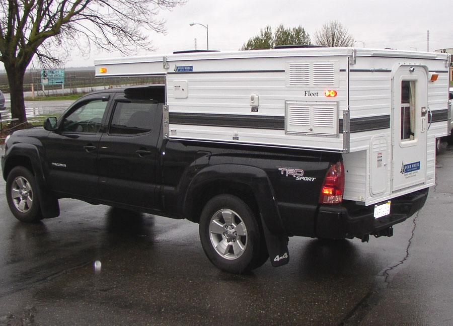 Long Bed Pickup Camper Shell