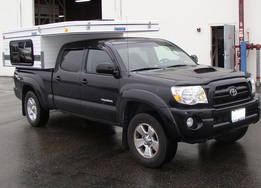 lightweight pop up truck camper toyota tacoma all terrain overland rh fourwh com toyota tacoma camper insert toyota tacoma camper topper
